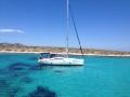 Sailing tour around Paros with a charter yacht