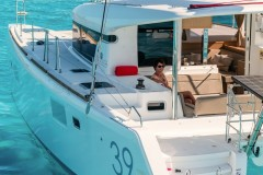 catamaran yacht charter greek islands