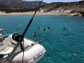 rent a catamaran in Cyclades with skipper
