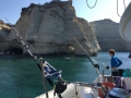 greek islands catamaran travel