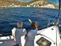 Couples sailing holidays with professional captain