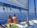 sailing the Greek isles for couples