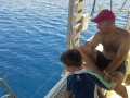 Greece yacht charter holidays for families with kids