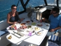 couples sailing trips in Greece