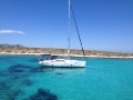 Charter yacht for private tour cruise in the Cyclades islands