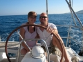 Small sailboat cruises for honeymoon in Greece