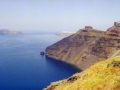 Visit Santorini during your greek islands sailing vacations with yacht charter