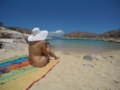 Private naturists sailing in Greece