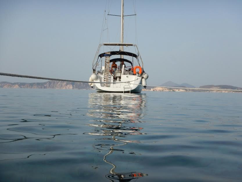 sailing cruises cyclades