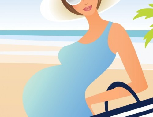 Pregnant on a private charter sailing cruise in Cyclades