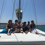 greek island sailing review catamaran