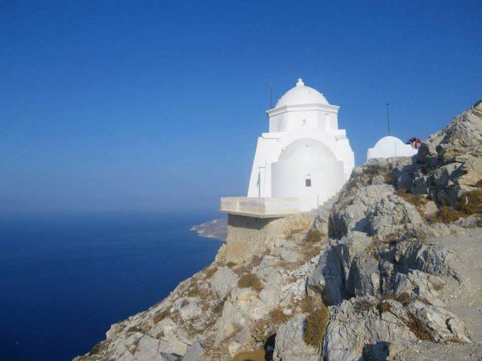 anafi cyclades kalamiotissa chapel