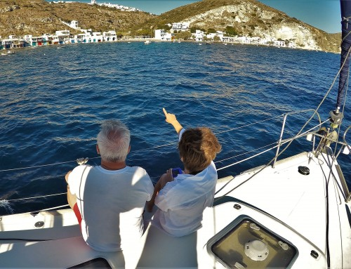 Couples sailing charter