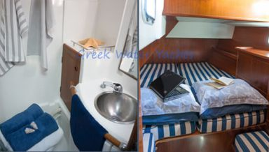 by the cabin yacht charter greece