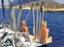naturist sailing trips in greece