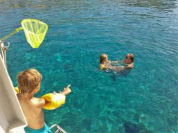 sailing holidays for families in greece
