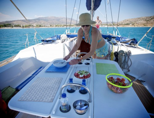 Skippered yacht charter & crewed sailing with skipper or captain in Greece