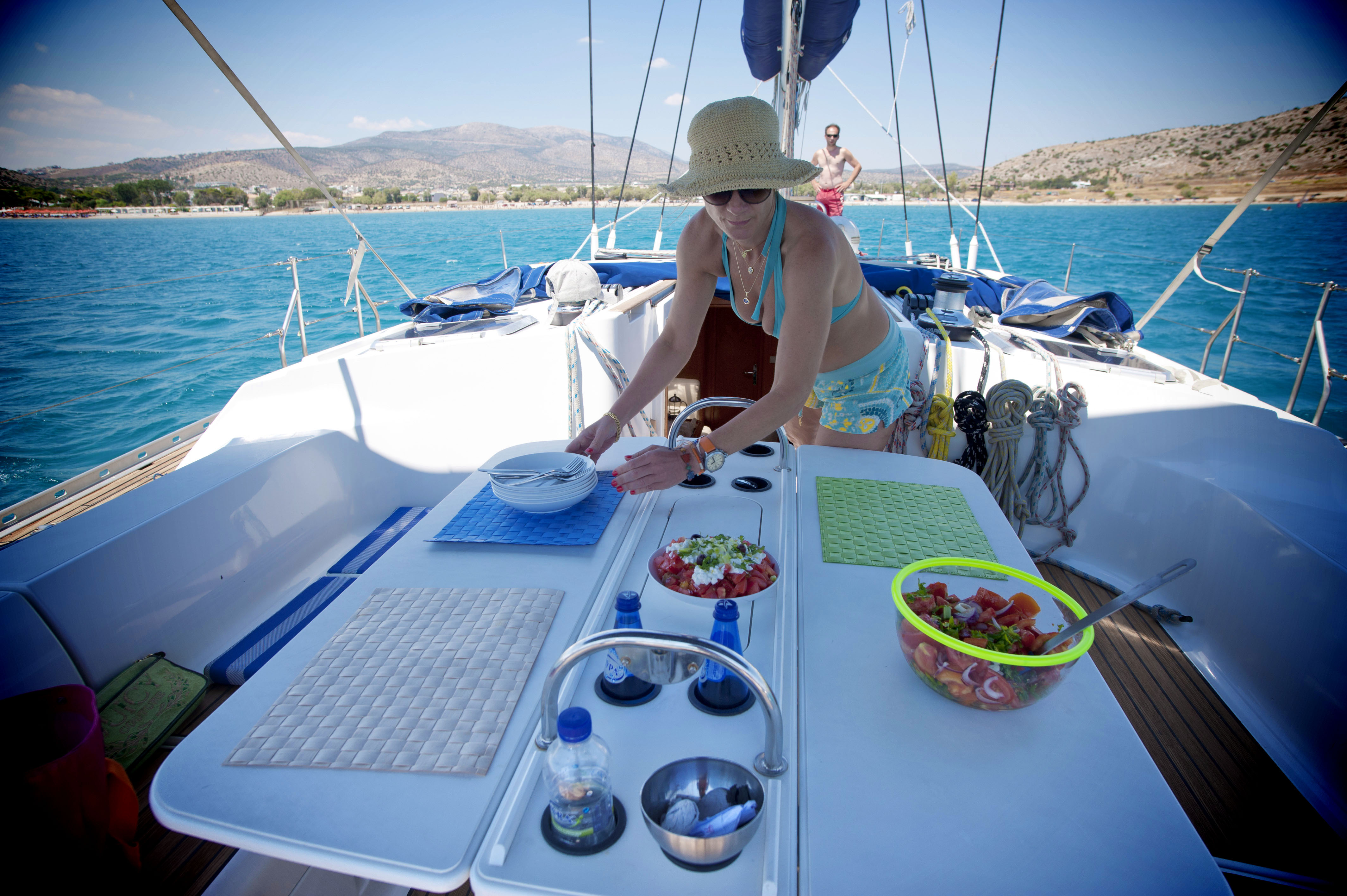 skippered charters in Greece