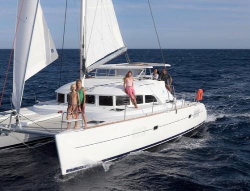 Cruising on a catamaran?