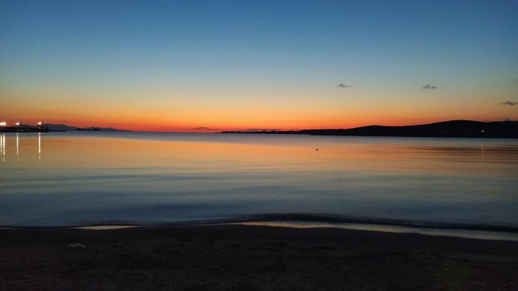 Paros sunset